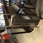 Mounting Steel frames