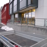 Railing with glass- Coated, Constructa